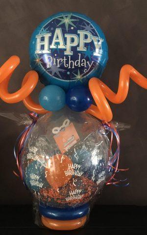 Stuffer met folieballon: 25€